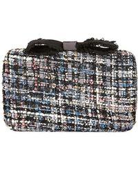 Neiman Marcus - Bouclé Box Clutch Bag - Lyst