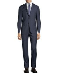 Hickey Freeman - Two-piece Wool Suit - Lyst