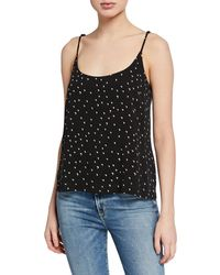 Knot Sisters - Moon Printed Scoop-neck Cami - Lyst