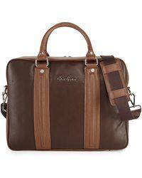 Robert Graham - Roman Leather Briefcase - Lyst daa85368af42d