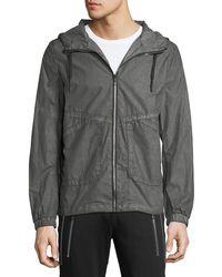 Antony Morato - Men's Hooded Zip-front Jacket - Lyst