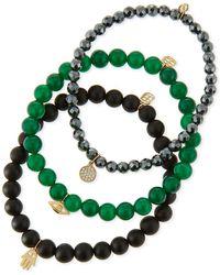 Sydney Evan - Beaded Bracelet Sets With Charms - Lyst