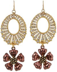Lulu Frost Roma Buttercup Link Earrings