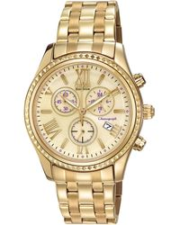 Citizen - 40mm Chronograph Bracelet Watch Champagne - Lyst