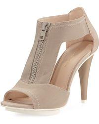 Pelle Moda - Merit Dressy Nubuck-trim Mesh Sandal - Lyst