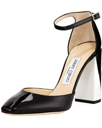 Jimmy Choo - Mabel Colorblock Leather Pumps - Lyst