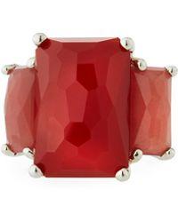 Ippolita - Rock Candy 3-stone Ring In Carnelian Size 6 - Lyst