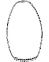 John Hardy - Dot Tube Enhancer Chain Necklace - Lyst