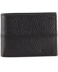 Cole Haan - Men's Full Grain Leather Bi-fold Wallet - Lyst