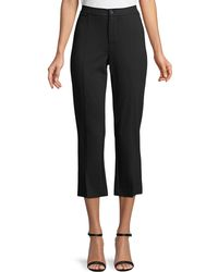 Laundry by Shelli Segal - Cropped Flare Pants - Lyst