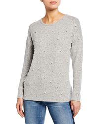 770fd70f5dc8f Old Navy Maternity Plush Rib-knit Tunic Sweater in Blue - Lyst