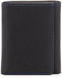 Robert Graham - Klein Leather Tri-fold Wallet - Lyst