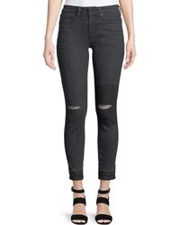 10 Crosby Derek Lam Devi Authentic Skinny Distressed Jeans