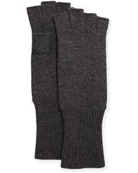 Portolano - Men's Cashmere Fingerless Gloves - Lyst