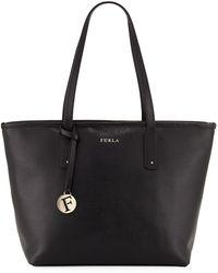 Furla - Daisy Medium Saffiano Leather Shoulder Tote Bag - Lyst