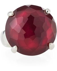 Ippolita | 925 Rock Candy Large Round Ring In Cherry | Lyst