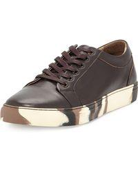 Zanzara - Beats Printed-sole Leather Sneaker - Lyst