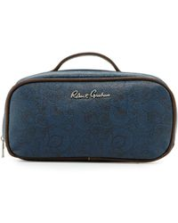 Robert Graham - Faux-leather Toiletry Bag - Lyst