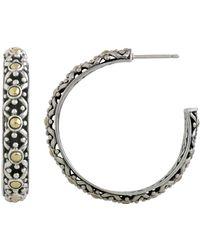 John Hardy - Jaisalmer Big Hoop Earrings - Lyst