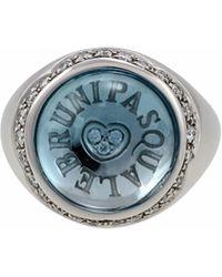 Pasquale Bruni - 18k Avant Garde Quartz & Diamond Flower Ring - Lyst