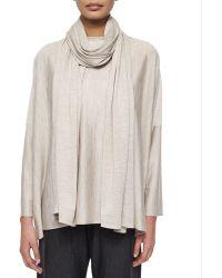 Eskandar - Jersey Knit Long Scarf - Lyst