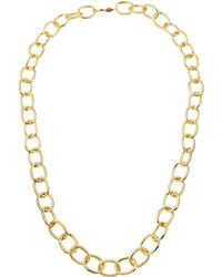 A.V. Max - Handmade Gold-plated Link Necklace 36 - Lyst