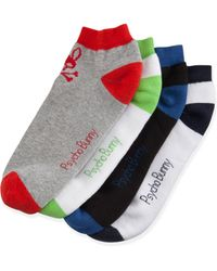 Psycho Bunny - Four-pack Low-cut Sock Set - Lyst