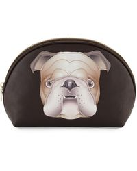 Love Moschino | Faux-leather Cosmetic Bag | Lyst