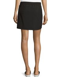 Marc New York - Zip-pocket Drawstring-waist Skirt - Lyst