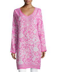 Raj | Wildflower Printed Caftan Tunic | Lyst