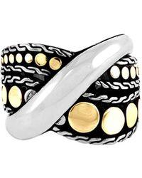 John Hardy - Dot Menari Twist Ring Size 7 - Lyst