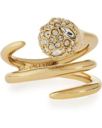 Alexis Bittar - Crystal-encrusted Sphere Coil Ring - Lyst