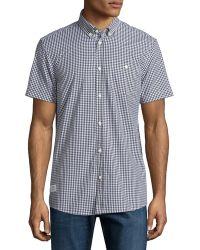 Wesc - Gert Short-sleeve Button-front Shirt - Lyst