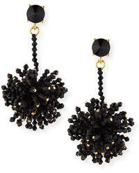 Oscar de la Renta - Firework Clip-on Drop Earrings - Lyst