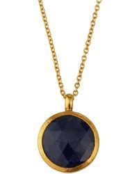 Gurhan One-of-a-kind Elements Sapphire Pendant Necklace - Blue