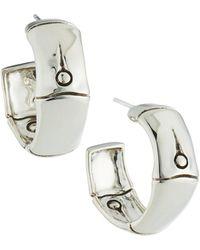 John Hardy - Bamboo Small Hoop Earrings - Lyst