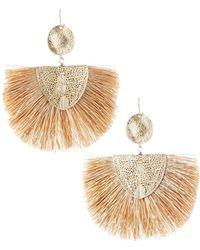 Lydell NYC - Fan-style Drop Earrings - Lyst