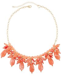 Lydell NYC - Multi-drop Crystal Statement Necklace - Lyst
