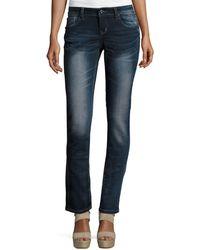 Grace In La | Faded Blue Skinny Jeans | Lyst