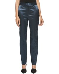 Theory Icon - High-waist Skinny Pants - Lyst