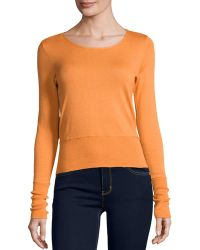 Todd And Duncan - Cashmere-blend Cropped Top - Lyst