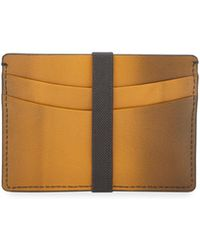 Hook + Albert - Ombre Leather Card Holder - Lyst