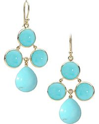 a4248562cccbc Audrey Turquoise Chandelier Earrings