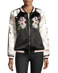 On The Road - Reversible Bomber Jacket - Lyst