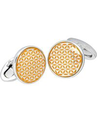 Jan Leslie | Tight Flower Cuff Links | Lyst