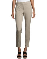 Neiman Marcus - Textured Stretch Denim Skinny Jeans - Lyst
