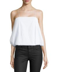 F.t.b By Fade To Blue - Sleeveless Thin-strap Top - Lyst