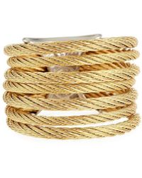Alor - Seven-row Micro-cable Band Ring - Lyst