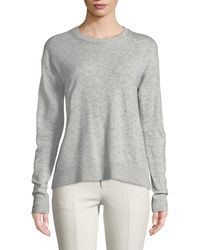 Vince - Boxy Wool-blend Pullover Sweater - Lyst