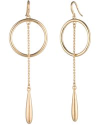 Trina Turk - Teardrop Hoop Earrings - Lyst
